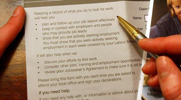 The number of people claiming Jobseeker's Allowancen has risen again