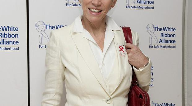 Annie Lennox talked about her efforts to tackle HIV and Aids in Africa
