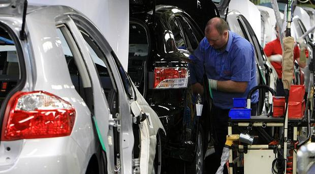 Figures show a total of 138,296 cars were made in the UK in February