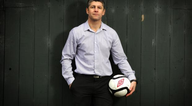 Stephen Robinson is hoping to make a big impact with the under-21 team