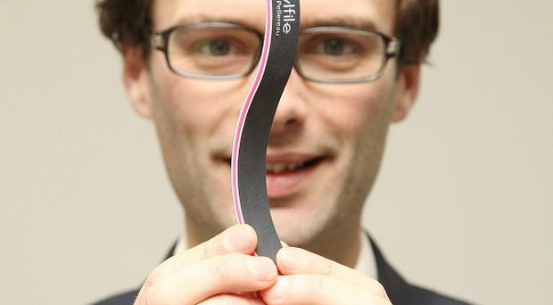 The Apprentice winner Tom Pellereau has launched his range of nail files