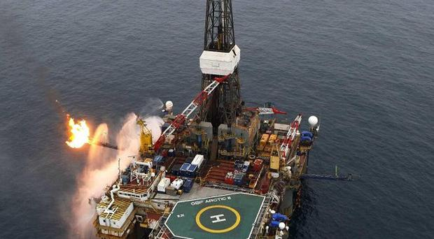 Providence Resources' oil rig operates at Barryroe, off the coast of Co Cork (Providence Resources)