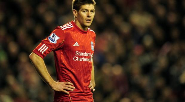Steven Gerrard was controversially overlooked for the role of England captain last month