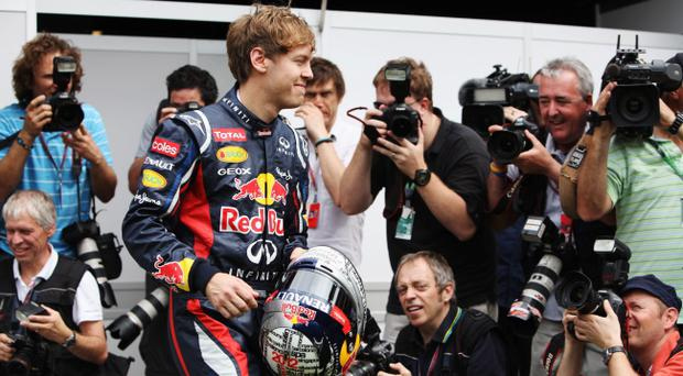 <b>RED BULL RACING - Red Bull RB8 Renault</b><br /> <b>Sebastian Vettel</b><br /> It's quite simple: Red Bull start as the favourite just as they did in 2010 and 2011 when they became world champions together with their golden boy, Sebastian Vettel. It says everything that rivals fear what breakthrough designer Adrian Newey might have up his sleeve ready to spring on them in Melbourne. <br /> Vettel is one of the top five drivers out there, though some still wait to see just how he copes with consistent and sustained pressure after two seasons of making the most of the best car. He is relaxed, calm, immensely likeable – and, of course, extremely fast. And the clear favourite.