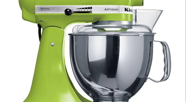 <b>1. KitchenAid Artisan Stand Mixer</b> £409, hartsofstur.com The Artisan's unique engineering means it makes unbelievably short work of everything from cake mixes to bread dough.