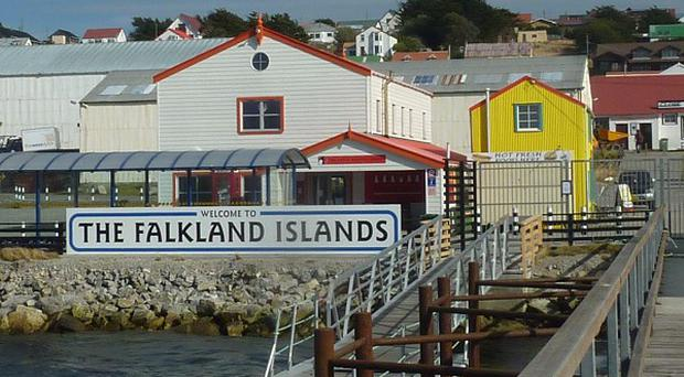 Argentina has challenged Britain over oil exploration in the Falkland Islands (AP)
