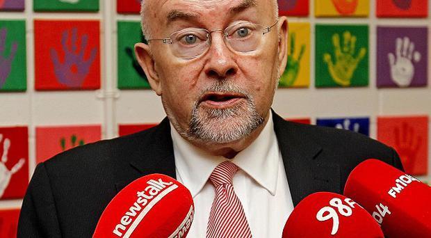 Education minister Ruairi Quinn said the household charge will be 'short-lived'