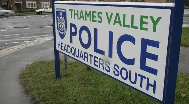 Thames Valley Police are questioning four man after a man was found dying with stab wounds