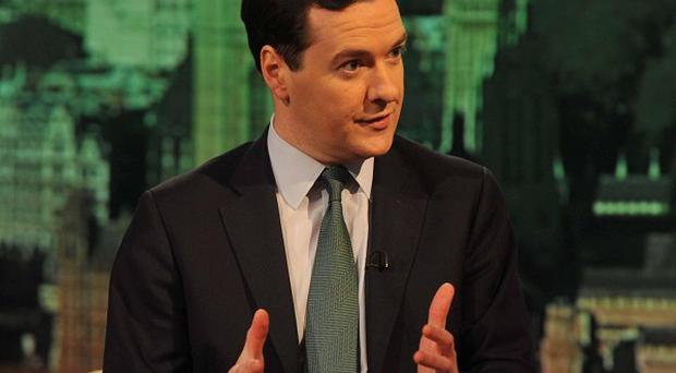 Chancellor George Osborne has promised 'a Budget for working people' (BBC/Jeff Overs/PA)