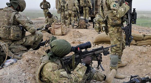 William Hague has said that continuing to fight the Taliban in Afghanistan is essential for Britain's national security