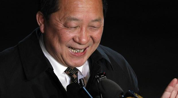 North Korean nuclear negotiator Ri Yong Ho has been in China on the day his country invited the IAEA to resume some atomic monitoring (AP)