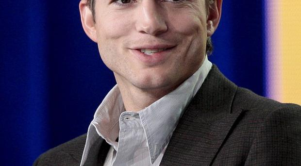 US actor Ashton Kutcher will be the 500th space tourist for Virgin Galactic (AP)