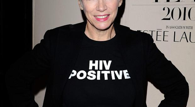 Annie Lennox performed in Scotland