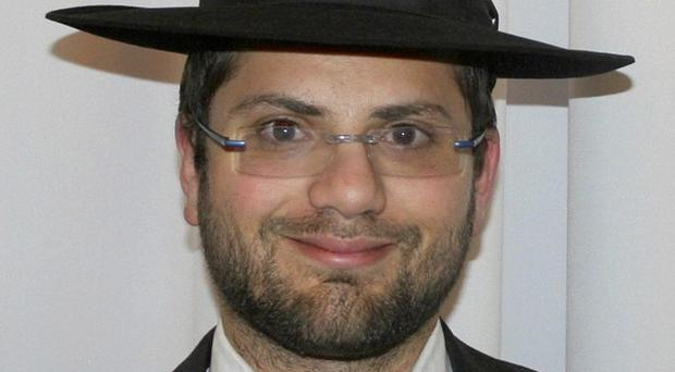 Rabbi Jonathan Sandler, who was killed when a motorcycle gunman opened fire in front of a Jewish school (AP Photo)