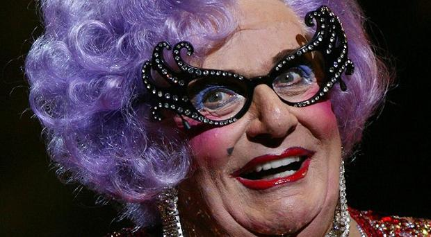 Barry Humphries is doing his last show as Dame Edna Everage