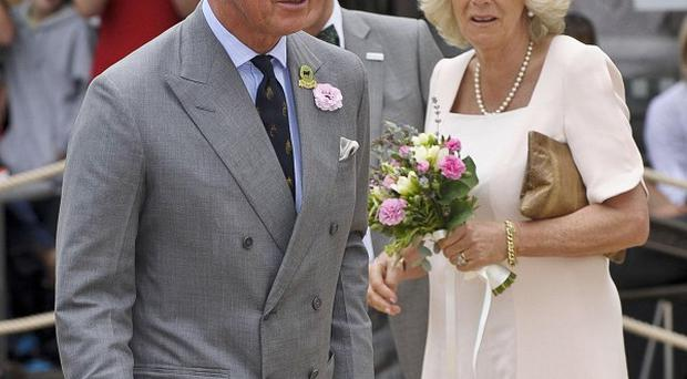 The Prince of Wales and Duchess of Cornwall are embarking on the first day of their Scandinavian tour