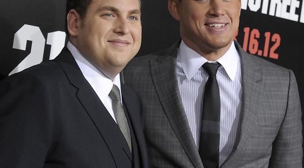 Jonah Hill and Channing Tatum's film 21 Jump Street has topped the US weekend box office