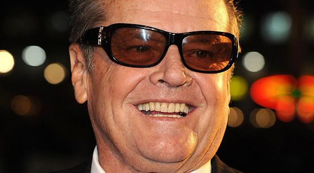 Jack Nicholson has topped a list of the greatest movie performances