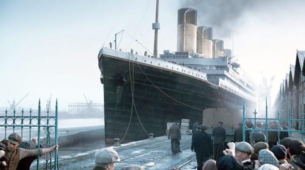 Images from the new Titanic TV drama which focuses on the lives of passengers ranging from those in steerage to first class as the threads of three different stories are woven together