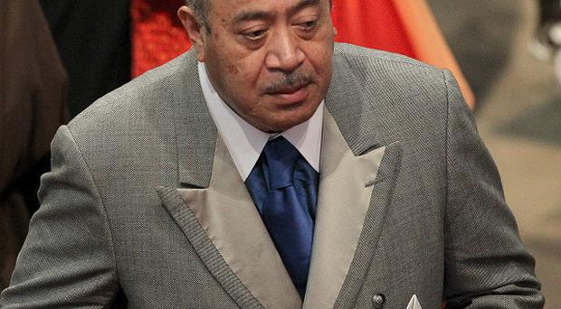 King George Tupou V died on Sunday in Hong Kong