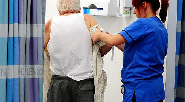 The Royal College of Nursing said the elderly are being let down by low staffing levels across the NHS
