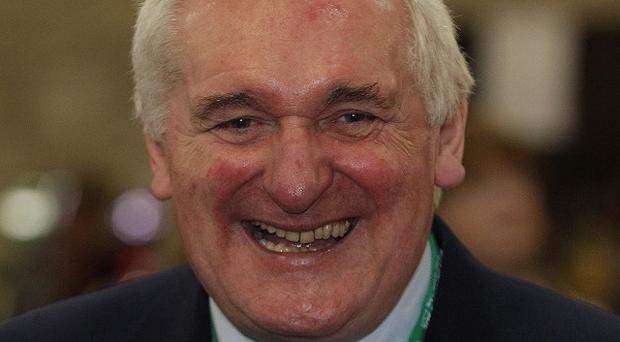 Former taoiseach Bertie Ahern reportedly promised Jackie Healy-Rae around 71 million euro to spend on roads