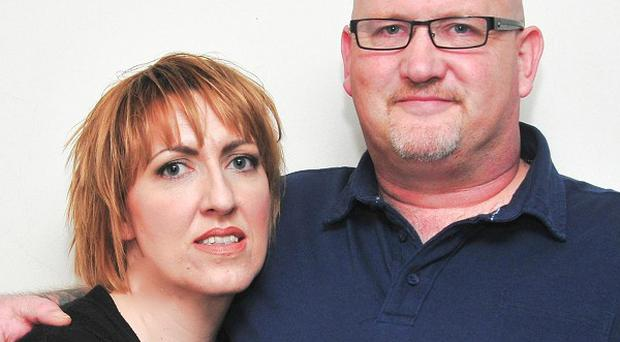 Graham Mitchell and wife Laura say their lives have been turned upside down by a request to extradite him to Portugal
