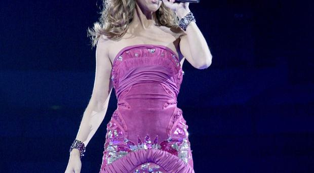 Celine Dion has revealed her vocal chords are on the mend