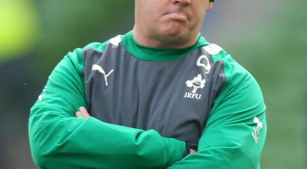 Short fall: Declan Kidney's lack of vision and enterprise has harmed Ireland's chances of success