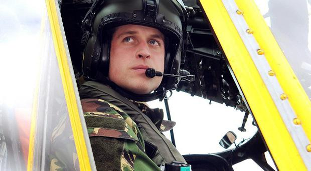 A royal spokesman said Prince William has returned from the Falkland Islands