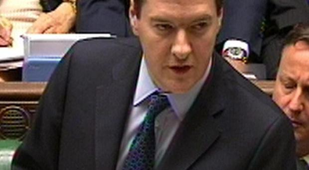 George Osborne delivers his Budget statement to the House of Commons