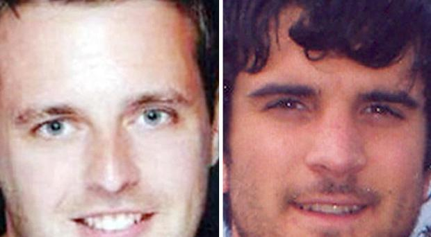 James Cooper and James Kouzaris were shot dead in Sarasota, Florida, last April