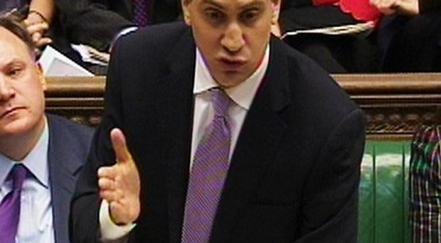 Labour leader Ed Miliband immediately attacked the Chancellor after his Budget statement