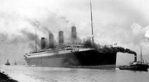 Titanic in Belfast Lough