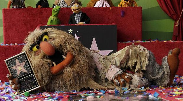 The Muppets were honoured with their own star