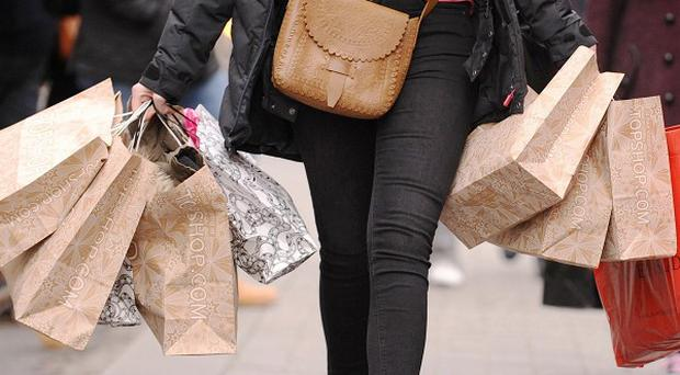 Consumers are still reluctant to spend despite a fall in inflation, the ONS said