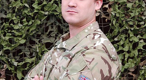 Captain Rupert Bowers was killed in an explosion in Afghanistan earlier this week (MoD/PA)