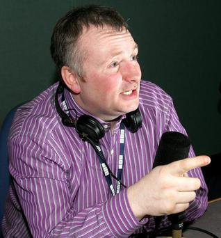 Tightlipped: Stephen Nolan saying nothing over TV contract