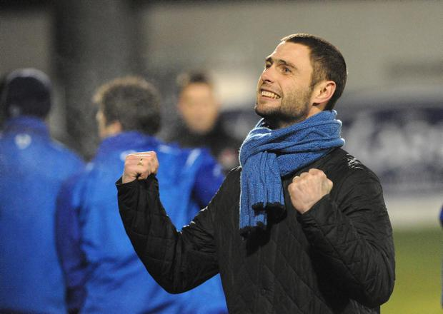 Glenavon player-manager Gary Hamilton