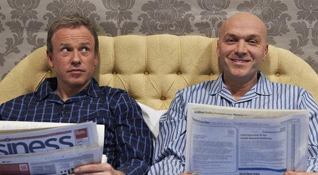 Tim Lovejoy and Simon Rimmer start Sunday brunch this weekend