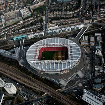 A 29-year-old man has been arrested in connection with an alleged incident at Arsenal's Emirates Stadium