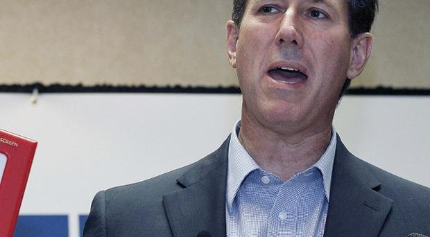 Rick Santorum has won the Louisiana primary in the race to become the Republican presidential candidate (AP)