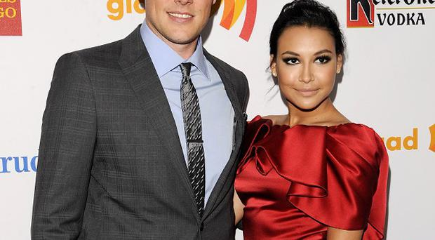 Cory Monteith and Naya Rivera auctioned off kisses to raise funds for the organisation
