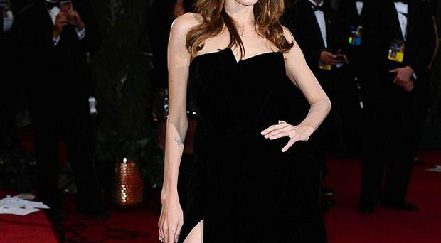 Angelina Jolie hasn't paid much attention to all the fuss about her right leg