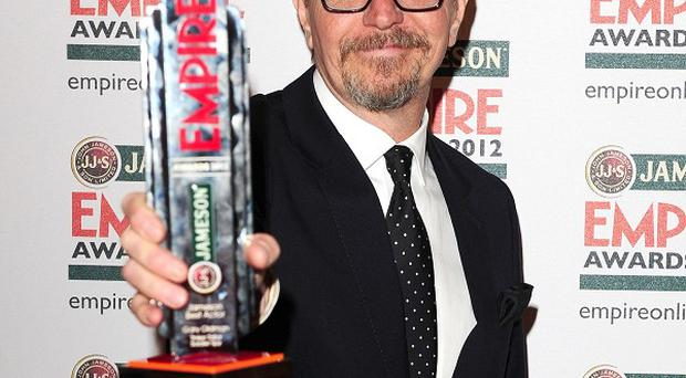 Gary Oldman won Best Actor at the Jameson Empire Film Awards