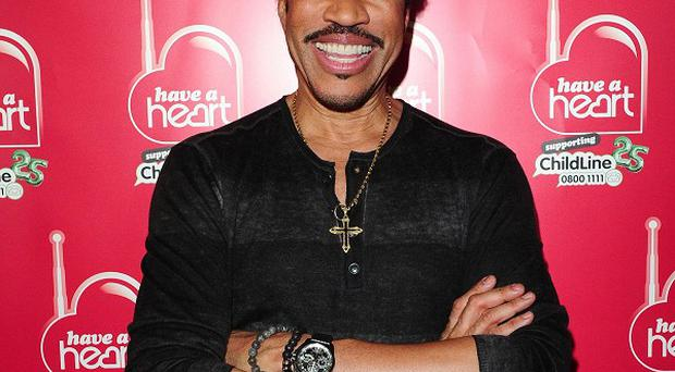 Lionel Richie has worked with a variety of country artists for his latest album