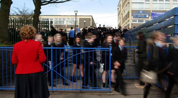 The number of school pupils playing truant is up on last year, figures have shown