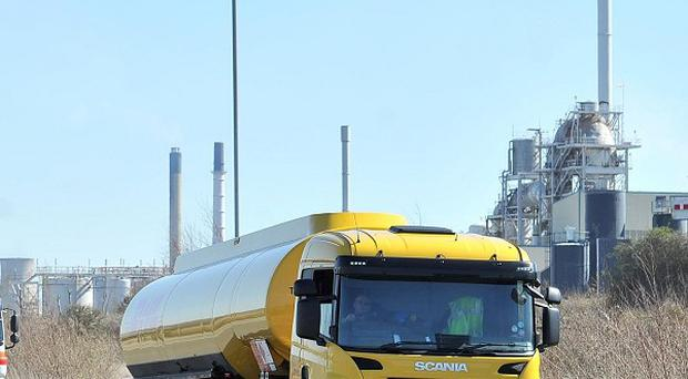 Petrol tanker drivers have voted in favour of strikes in a row over terms and conditions and safety standards