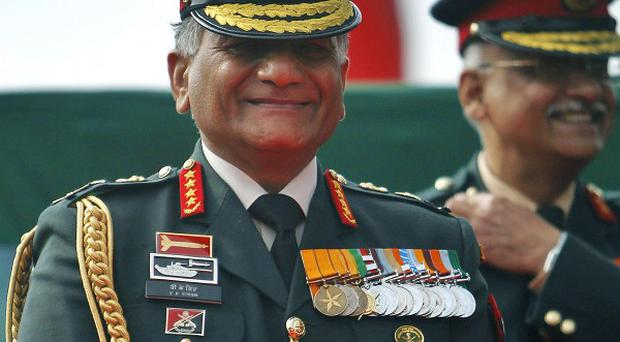 Indian Army Chief Gen. V.K. Singh's leaked letter has caused uproar (AP)