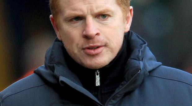 Two men deny plotting to assault Celtic manager Neil Lennon and various other individuals at the High Court in Glasgow